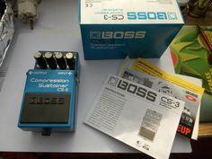 BOSS CS-3 Compression Sustainer Effektgerät TOP+OVP!