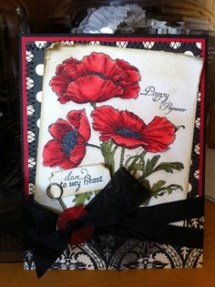 Crafty Secrets Poppies by jbalcer - Cards and Paper Crafts at Splitcoaststampers