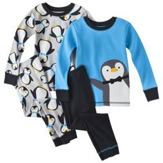JUST ONE YOU® Made by Carters® Infant Toddler Boy%27s 4-Piece Tight Fit Sleep Set #targetawesomeshop