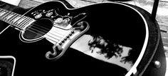 Gibson J-200 Black , Black J200 Gibson Guitar