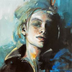 Oil on panel, 50x50 cm. by @maria_alvarez_e Portrait Art, Figurative, Oil, Painting, Artists, Painting Art, Paintings, Painted Canvas, Drawings