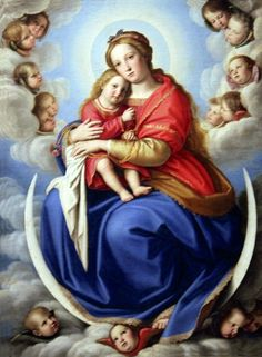 This is a beautiful picture of Mary and Jesus Christ!
