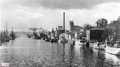 Näkymä Martinsillalta   1940-luku  Kuva Erik Välke Turku Finland, 12 Year Old, Helsinki, New York Skyline, History, Travel, Voyage, Viajes, History Books