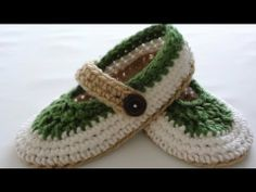 St. Patty Slapper Crochet Slippers - Pt 1 - Sole Video Tutorial. Intermediate Level. Ladies Size 6 to 7. Written Pattern free to print at http://www.crochethooksyou.com/st-patty-slapper-crochet-slippers-pattern/    Purchase Red Heart Super Saver Chunky Buff Yarn at  http://www.crochethooksyou.com/go/Red-Heart-Super-Saver-Chunky-Yarn-Buff/    Purchase...