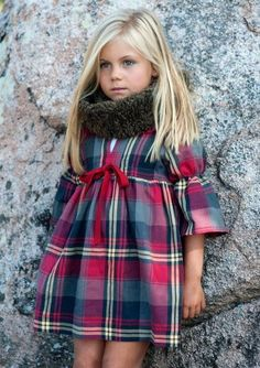 tartan children's fashion