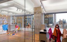 Brown Shoe Company  Designer: MKDA New York    #brownshoecompany #office #mkdanewyork #tagwall #slimline #interiordesign #officedesign #walldesign #workspaces Shoe Company, Brown Shoe, Workspaces, Wall Design, Walls, York, Interior Design, Nest Design, Home Interior Design