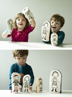 kokokoKIDS: DIY Puppet Theater.