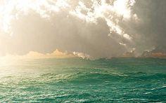 Carl Miller, Sea 8, 2014 / 2014 © www.lumas.de/ #LumasDigital,  Digital Art,  dramatisch,  Gewitter,  Landschaft,  Meer,  Ozean,  Wasser,  Welle,  Wellen,  Wolke,  Wolken,  wolkig