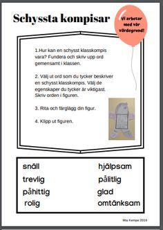Peace Education, Learn Swedish, Swedish Language, Future Classroom, Bingo, School Supplies, Mall, Preschool, Projects To Try