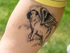 flying dog tattoo 30 Cool Tattoo Ideas You Dont Want To Miss