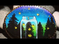 March 24, 2021 - YouTube Stone Painting, Rock Painting, Painted Rocks, Hand Painted, Lake Superior, Love People, Mandala Design, Snow Globes, Eye Candy