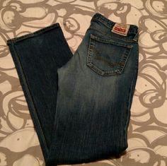 "Big Star Sugar straight jeans 28R. 33"" inseam. GUC! Big Star Jeans Straight Leg"
