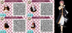 Fairy Tail, Natsu, Animal Crossing QR Code