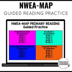 NWEA Primary Reading slides with guided practice. Your students will warm-up their reading and language skills while also sharpening their test prep.This is a PowerPoint presentation - each slide is secured. What does this mean? You can simply open the PowerPoint to display OR mix and match the slid...