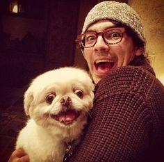 The Best Photo Of Joe Jonas And A Dog Ever