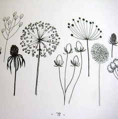 """pattern:"""" 20 Ways to Draw a Tree"""