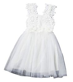 6ad6d26cce0 Amazon.com  EGELEXY Baby Girls Sleeveless Lace Wedding Vintage Birthday  Party Princess Flower Dress
