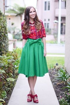 Haute, Haute, Haute! 7 Non-Tacky Ways to Wear Red and Green This Christmas | Fashion - Yahoo Shine