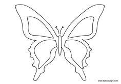 FARFALLA DA COLORARE | Farfalla da colorare