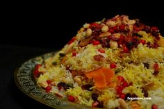 Everyone love this when I make it Javaher Polo (persian jeweled rice)