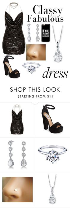 """""""Classy"""" by annawell-1 ❤ liked on Polyvore featuring Steve Madden, Bling Jewelry and Casetify"""
