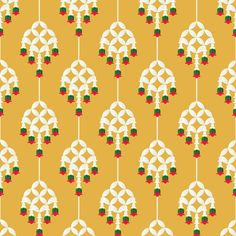 ลายไทยประยุกต์ พวงมาลัย Thai Pattern, Pattern Art, Pattern Design, Textures Patterns, Print Patterns, Modern Patterns, Thai Decor, Thai Design, Thai Art