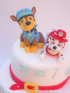 Paw patrol cake  Mancs őrjárat torta