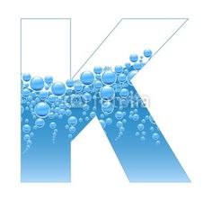 Bubbles and water   K