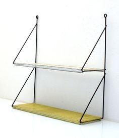 Vintage Pilastro shelf, mategot stijl,retro, fifties, eames on Etsy, $223.34