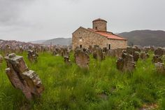 The church of St Peter near Novi Pazar, the oldest in Serbia. Image by Diego Delso