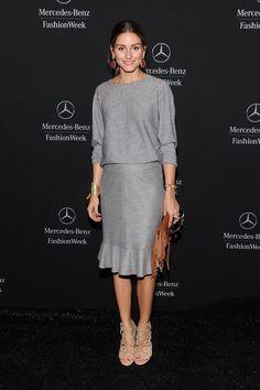 Pin for Later: Olivia Palermo hat sich den Platz in der ersten Reihe verdient New York Fashion Week