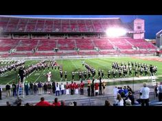 OSU MARCHING BAND - The Ohio State University Marching Band performs Hang on Sloopy at the 2012 Buckeye Invitational, held October 13, 2012  (youtube.com  mbandfan2)