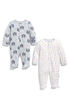 ROSIE POPE Print One-Piece (Set of 2) (Baby Boys) available at #Nordstrom