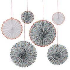 Meri Meri Pinwheel Decoration - Liberty Betsy