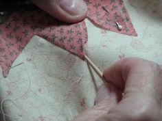 Applique points needleturn tutorial.  Maybe this will help me master needle turn applique