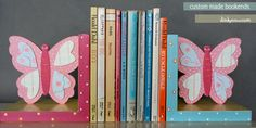 custom made kids bookends for a children's hospital- dinkycow