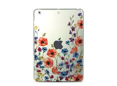 Tablet Stand Flower iPad Pro 12.9 Case Clear iPad Pro 9.7 Case Floral iPad Pro Case iPad Air 2 Hard Case Flower iPad Mini Hard Case Cover