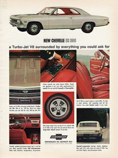 1966 Chevrolet Chevelle SS 396 Sport Coupe
