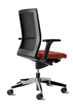 NEOS red office chair | Design wiege | Dynamic seating. Pure and simple. | By Wilkhahn | #neos