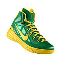 green and yellow hyperdunks