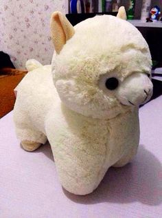 Alpaca Plush Alpacasso Amuse Soft doll by PureTutuSecretGarden