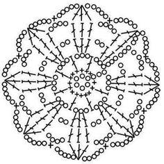 Comments in Topic Crochet Snowflake Pattern, Crochet Stars, Crochet Snowflakes, Doily Patterns, Crochet Flowers, Crochet Patterns, Crochet Symbols, Crochet Motifs, Crochet Diagram