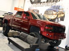 Every November, hundreds of custom trucks and cars congregate at the SEMA Show in Las Vegas for a week of automotive madness. 2014 was no different.
