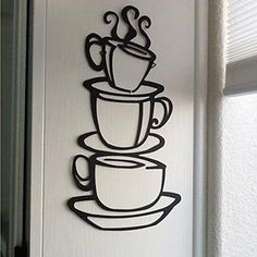 Voberry® Removable DIY Kitchen Decor Coffee House Cup Decals Vinyl Wall Sticker for Dining Room Voberry http://www.amazon.com/dp/B00XOJ94TC/ref=cm_sw_r_pi_dp_z03-wb036CYYY