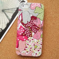 Girlish Slim Case for iPhone 5 with Hard Back Cover  http://www.slickfuns.com/girlish-slim-case-for-iphone-5-with-hard-back-cover.html