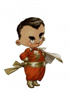 Pequenos Heróis de Alberto Varanda - Shazam