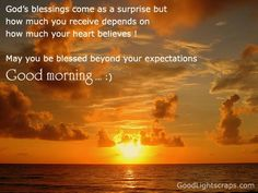 I AM Blessed Quotes | Quotes blessing receive heart expectations - Online Free Quotes ...