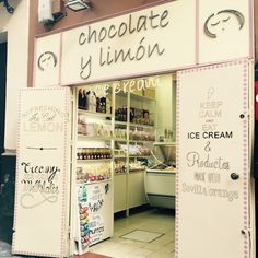 Great home made ice cream at Sevilla