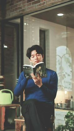 Same book till the end 😂😂😂yet not completed? Goblin Korean Drama, Goblin Gong Yoo, Goblin Kdrama, Korean Drama Quotes, Yoo Gong, Kwon Hyuk, Goong, Kim Go Eun, Yook Sungjae