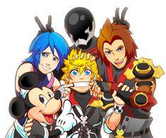 Kingdom Hearts: Birth by Sleep. Awwwww that's sooooooooo cute!!!!